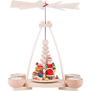 Christmas-Pyramids 1-tier Pyramids 1-Tier Pyramid - Santa Claus - 23 cm / 9.8 inch