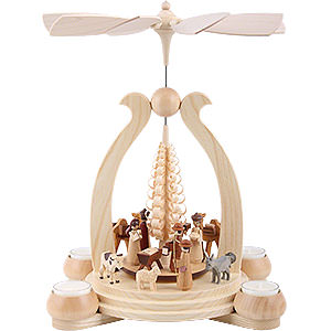 Christmas-Pyramids 1-tier Pyramids 1-Tier Pyramid - The Christmas Story - 34 cm / 13 inch