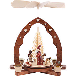 Christmas-Pyramids 1-tier Pyramids 1-Tier Pyramid - The Giving - 30 cm / 12 inch