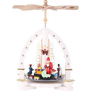 Christmas-Pyramids 1-tier Pyramids 1-Tier Pyramid - The Giving - White - 27 cm / 11 inch
