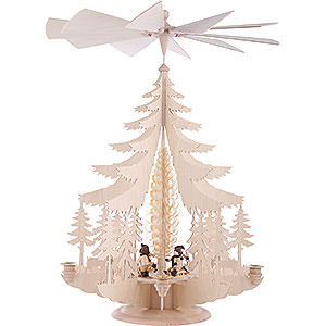 Christmas-Pyramids 1-tier Pyramids 1-Tier Pyramid - Winter Children - 62x42 cm / 24x16 inch