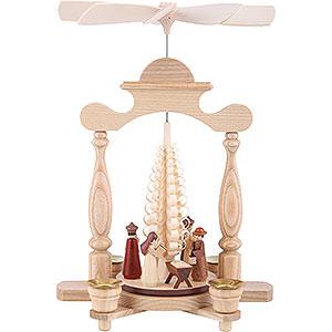 Weihnachtspyramiden 1-stöckige Pyramiden 1-stöckige Pyramide Christi Geburt - 32 cm