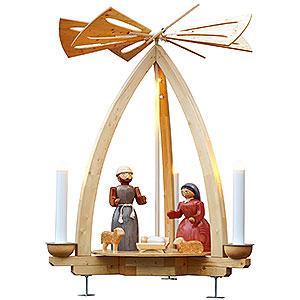 Weihnachtspyramiden 1-stöckige Pyramiden 1-stöckige Außenpyramide Christi Geburt - 300 cm