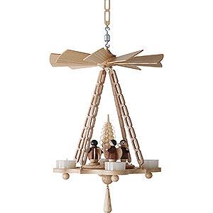 Weihnachtspyramiden 1-stöckige Pyramiden 1-stöckige Hängepyramide Engel - 30 cm