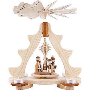 Weihnachtspyramiden 1-stöckige Pyramiden 1-stöckige Pyramide Christi Geburt - 36 cm