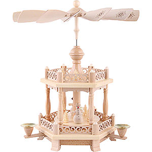 Christmas-Pyramids 2-tier Pyramids 2-Tier Pyramid - Baroque Fence - 38 cm / 15 inch