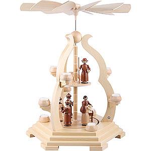 Christmas-Pyramids 2-tier Pyramids 2-Tier Pyramid - Bow Design - 65 cm / 25 inch