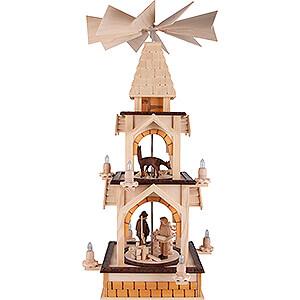 Christmas-Pyramids 2-tier Pyramids 2-Tier Pyramid - Forest - 77 cm / 30.3 inch