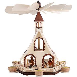 Christmas-Pyramids 2-tier Pyramids 2-Tier Pyramid - Forest Life - 47 cm / 18.5 inch