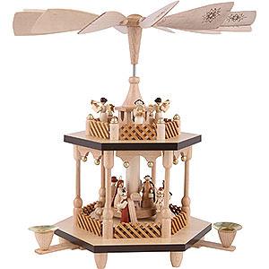 Christmas-Pyramids 2-tier Pyramids 2-Tier Pyramid - Nativity Scene - 32 cm / 13 inch