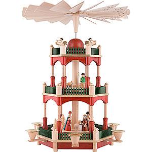 Christmas-Pyramids 3-tier Pyramids 3-Tier Pyramid - Nativity - 39 cm / 15.4 inch