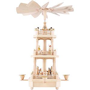 Christmas-Pyramids 3-tier Pyramids 3-Tier Pyramid - Nativity - 45 cm / 17.7 inch