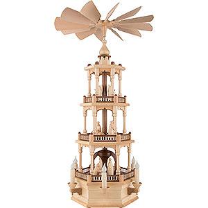 Christmas-Pyramids 3-tier Pyramids 3-Tier Pyramid - Nativity - 73 cm / 29 inch