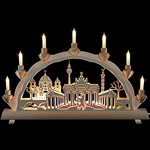 Candle Arches Fret Saw Work 3D Double Arch - Berlin - 50x32 cm / 20x12.6 inch