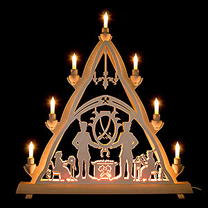 Lichterwelt Lichterspitzen 3D-Lichterspitze Schneeberg - 50x55 cm