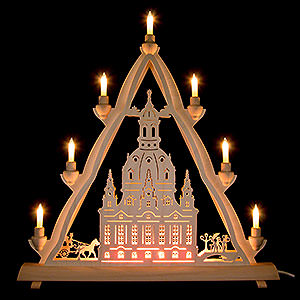 World of Light Light Triangles 3D Light Triangle - Dresden's Church of Our Lady - 50x55 cm / 20x22 inch