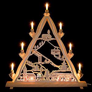 World of Light Light Triangles 3D Light Triangle - Oberwiesenthal - 50x55 cm / 20x22 inch