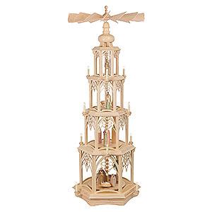 Christmas-Pyramids 4-tier Pyramids 4-Tier Christmas Pyramid - Gothic - 135 cm / 53 inch