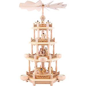 Christmas-Pyramids 4-tier Pyramids 4-Tier Pyramid - 'Nativity' - 55 cm / 21.7 inch