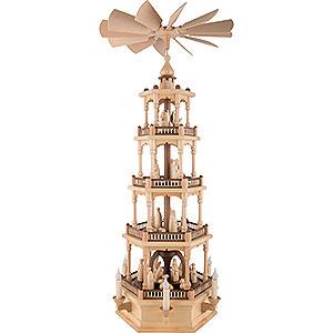 Christmas-Pyramids 4-tier Pyramids 4-Tier Pyramid - Nativity - 86 cm / 34 inch