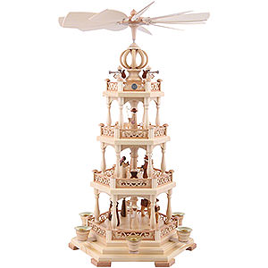 Christmas-Pyramids 4-tier Pyramids 4-Tier Pyramid - The Christmas Story - 55 cm / 22 inch