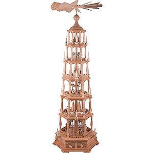 Christmas-Pyramids 6-tier Pyramids 6-Tier Pyramid - Nativity - 165 cm / 65 inch