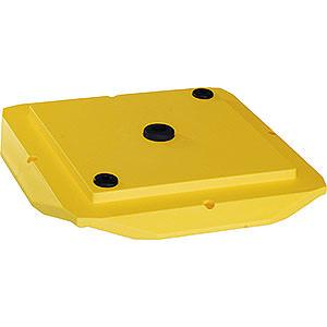 Adventssterne und Weihnachtssterne Ersatzteile Abdeckplatte 29-00-A13 - gelb
