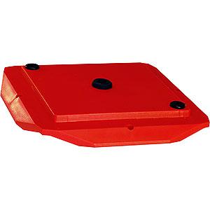 Adventssterne und Weihnachtssterne Ersatzteile Abdeckplatte 29-00-A13 - rot