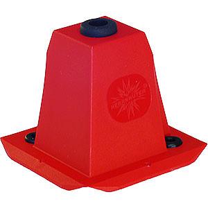 Adventssterne und Weihnachtssterne Ersatzteile Abdeckung 29-00-A4/29-00-A7 - rot