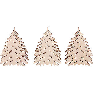 Candle Arches Arches Accessories Additional Trees, Set of Three - 5,5x5 cm / 2.2x2 inch