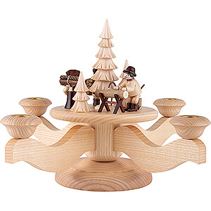 World of Light Candle Holder Misc. Candle Holders Advent Candle Holder - Forest People - 23 cm / 9.1 inch