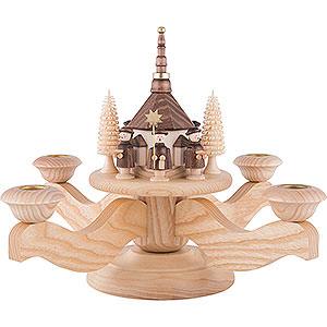 Lichterwelt Adventsleuchter Adventsleuchter Seiffener Kirche - 23 cm
