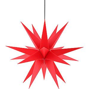 Adventssterne und Weihnachtssterne Saico Sterne Adventsstern für den Innen-und Aussenbereich rot inkl. Beleuchtung - 60 cm