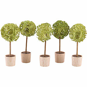 Angels Reichel decoration Almond Tree, Set of Five - 5 cm / 2 inch