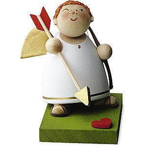 Weihnachtsengel Günter Reichel Amor Amor mit Pfeil und Bogen - 3,5 cm