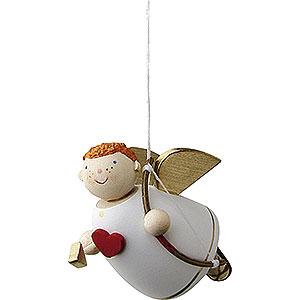 Weihnachtsengel Günter Reichel Amor Amor schwebend - 3,5 cm