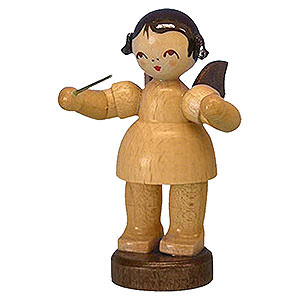 Angels Angels - natural - small Angel Conductor - Natural Colors - Standing - 6 cm / 2,3 inch