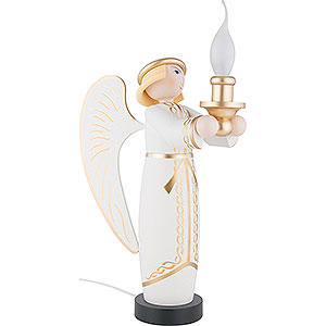 Angels Angel & Miner Angel - Electrically Illuminated - 50 cm / 20 inch