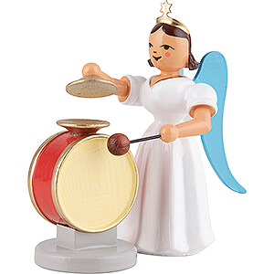 Angels Long Pleated Skirt Angels colored (Blank) Angel Long Pleated Skirt Cymbal Drum, Colored - 6,6 cm / 2.6 inch