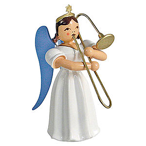 Angels Long Pleated Skirt Angels colored (Blank) Angel Long Pleated Skirt Sliding Trombone, Colored - 6,6 cm / 2.6 inch