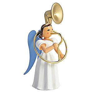 Angels Long Pleated Skirt Angels colored (Blank) Angel Long Pleated Skirt Sousaphone, Colored - 6,6 cm / 2.6 inch