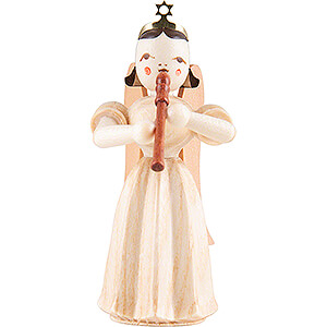 Angels Long Pleated Skirt Angels (Blank) Angel Long Pleated Skirt with Recorder - Natural - 6,6 cm / 2.6 inch