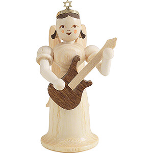 Angels Long Skirt (Blank) Angel Long Skirt with Electric Guitar - Natural - 6,6 cm / 2.6 inch