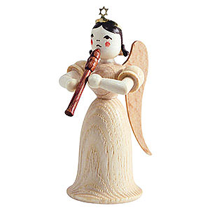 Angels Long Skirt (Blank) Angel Long Skirt with Flute, Natural - 6,6 cm / 2.5 inch