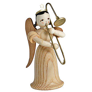Angels Long Skirt (Blank) Angel Long Skirt with Sliding Trombone, Natural - 6,6 cm / 2.6 inch