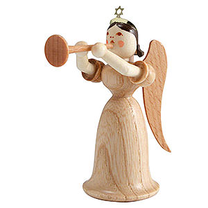 Angels Long Skirt (Blank) Angel Long Skirt with Trombone, Natural - 6,6 cm / 2.6 inch