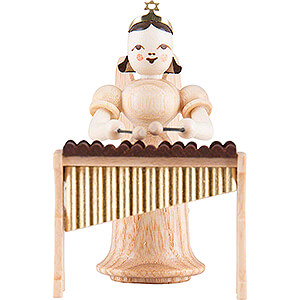 Angels Long Skirt (Blank) Angel Long Skirt with Xylophone - Natural - 6,6 cm / 2.6 inch