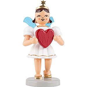 Angels Short Skirt colored (Blank) Angel Short Skirt Colored, Heart - 6,6 cm / 2.6 inch