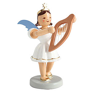 Angels Short Skirt colored (Blank) Angel Short Skirt Colored, Lyre - 6,6 cm / 2.5 inch