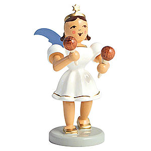 Angels Short Skirt colored (Blank) Angel Short Skirt Colored, Maracas - 6,6 cm / 2.6 inch